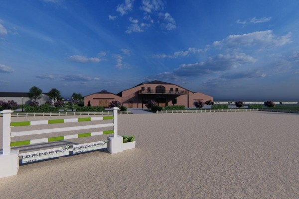 Brand new professional equestrian facility with unbelievable finishing
